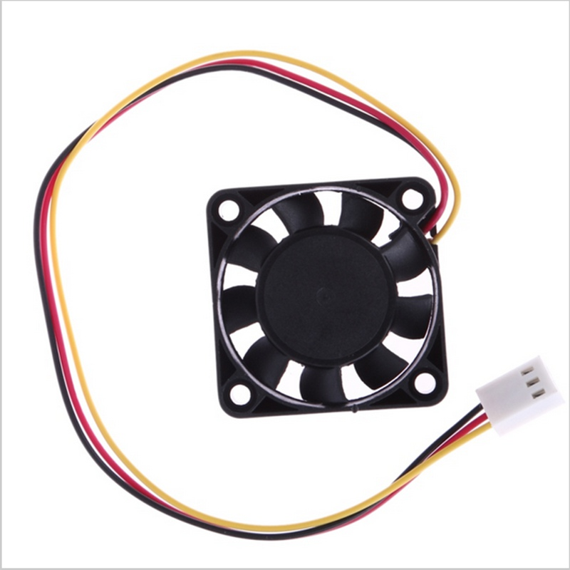 3 Pin 40mm Computer CPU Cooler Cooling Fan PC 4cm 40*40*10mm DC 12V CPU Heat sink Cooler medium computer cpu plastic cooling fan leaves card blower heat sink