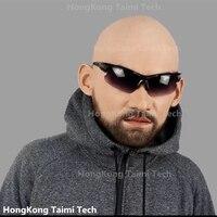 Реалистичная маска для кожи человека Маскировка самостоятельно маски с накладными ресницами латексная маска де латексная Реалистичная ма