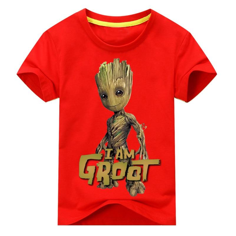 Baby I AM-Grooot Short Sleeve Shirt Toddler Tee