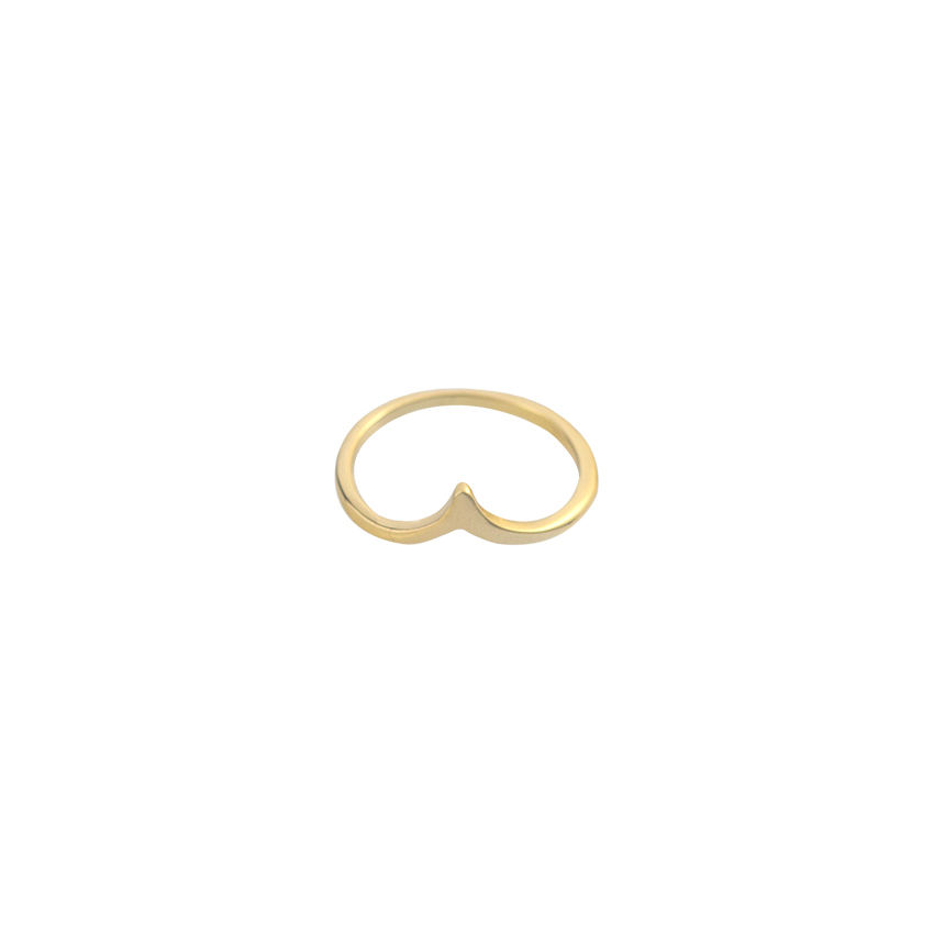 Stackable Chevron V Ring For Women Minimalism Jewelry 2017 Silver Rose Gold Anillo Mujer Bijoux Femme Friendship Christmas Gifts