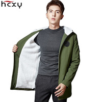 HCXY 2017 Jackket Men Winter Jacket Big Size M 4XL New Arrival High Quality Casual Thick