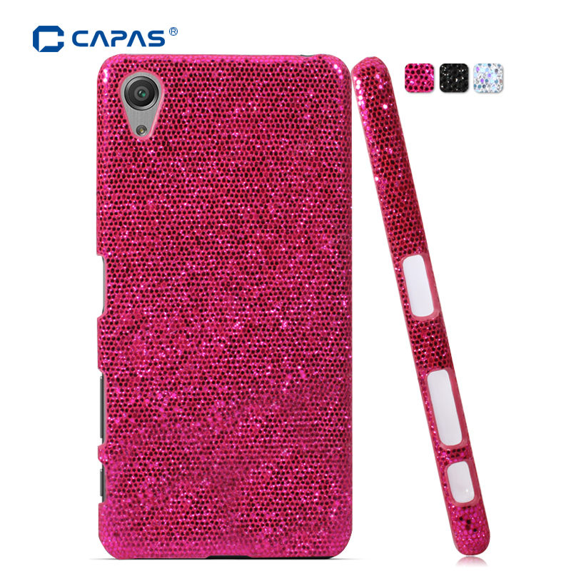 quality design 05de2 6364d US $6.59  For Sony Xperia X F5121 Dual F5122 Case Cover Original CAPAS Hard  Plastic Bling Protective Phone Cases Shell Coque Black-in Half-wrapped ...