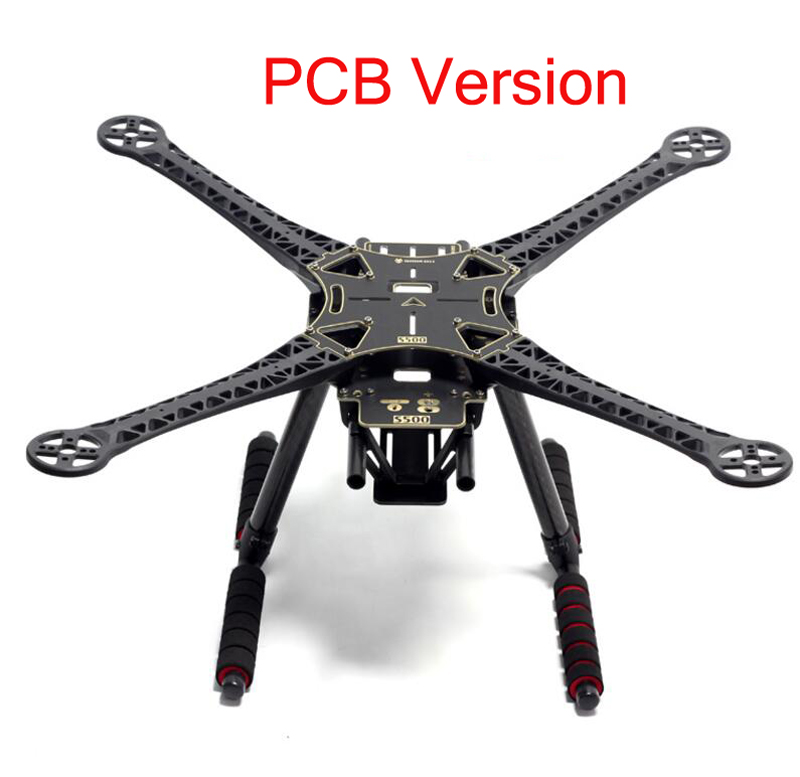 F450 Upgrade FPV aerial photography carrier aircraft superhard machine arm S500 GF PCB SK500 quadcopter carbon tube frame