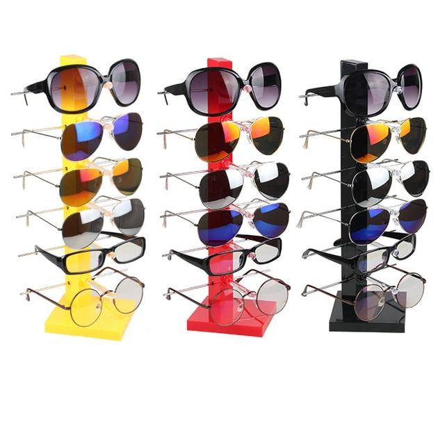 79181032d29e High Quality Six Pairs Glasses Display Sunglasses Holder Eyeglasses Frame  Men Women s Glasses Storage Rack Home Organizer Shelf