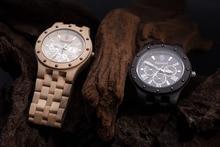 Fashion Seasonal New Design Wooden Watch Men High Quality Japan Movement Quartz Watch with Giftbox relogio