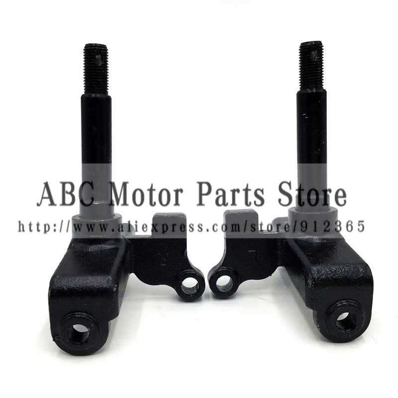 ATV  Parts for 150-250cc turning big dinosaur big bull  atv steering knuckle toutle for Drum brake only