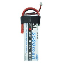 XXL 11.1V 5500mAh 3S 50C Max 100C Li-po Battery for helicopter remote control Models
