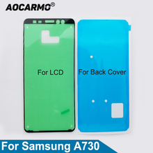 Sticker Lcd-Display-Screen Back-Battery Samsung Cover Adhesive Aocarmo Galaxy for Glue-Tape