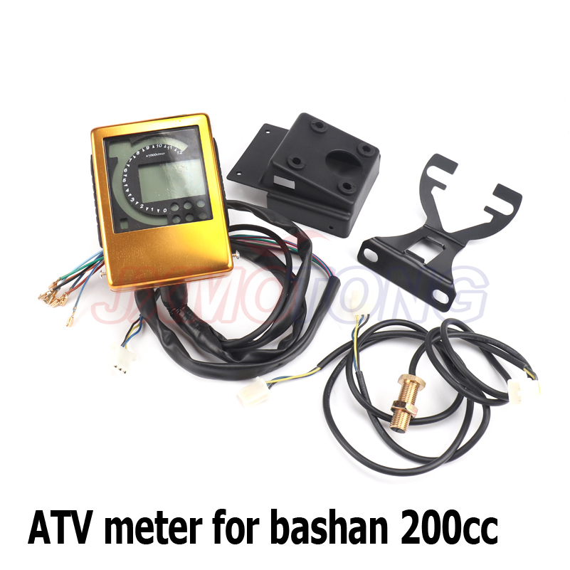 speedometer meter kits for bashan egl atv jinling eec. Black Bedroom Furniture Sets. Home Design Ideas