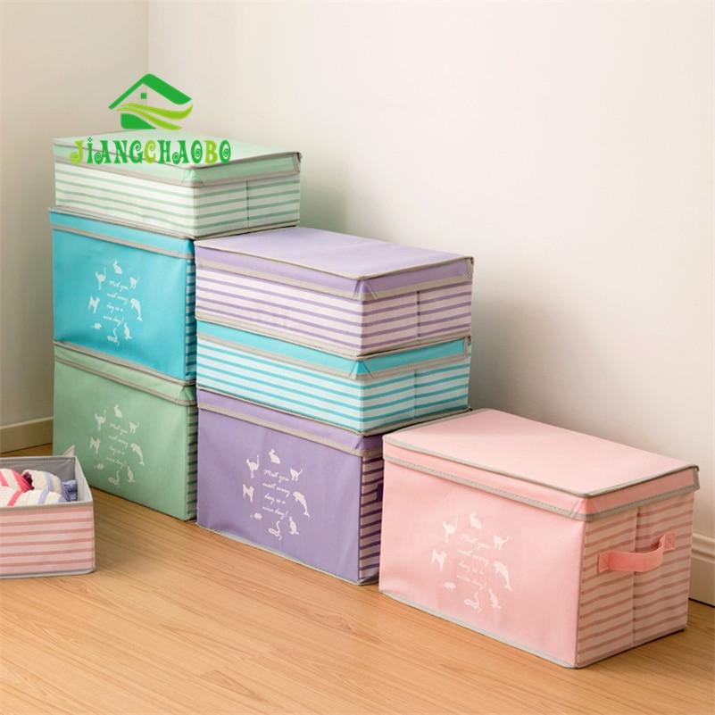 1 Piece JiangChaoBo Underwear Bra Organizer Storage Box 4 Colors Drawer Closet Organizers Boxes For Underwear Scarfs Socks Bra ...