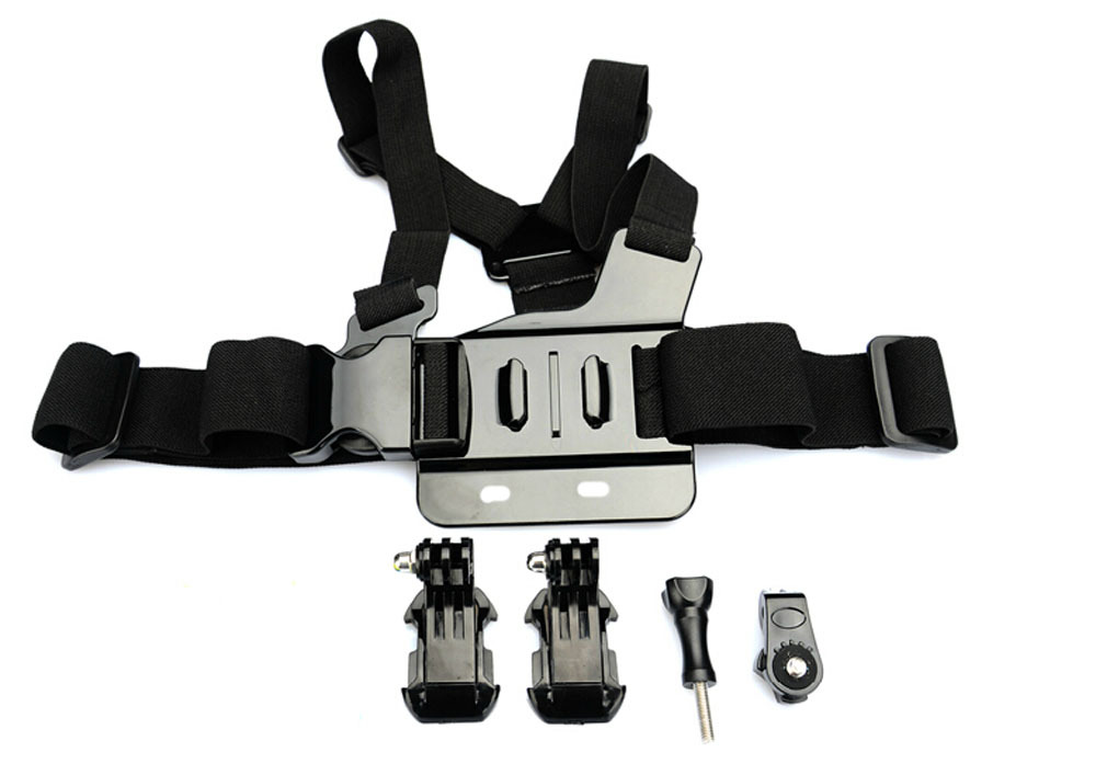 Chest Strap Mount for Sony Action Cam AS20 AS200V AS15 FDR-X1000V W 4K AS30V AS100V AZ1 Mini Xiaomi