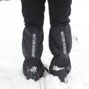 Image 5 - NOUVEAU 1 Paire Imperméable Randonnée Pédestre Randonnée Pédestre Escalade Chasse Neige Legging Gaiters gaiters de ski