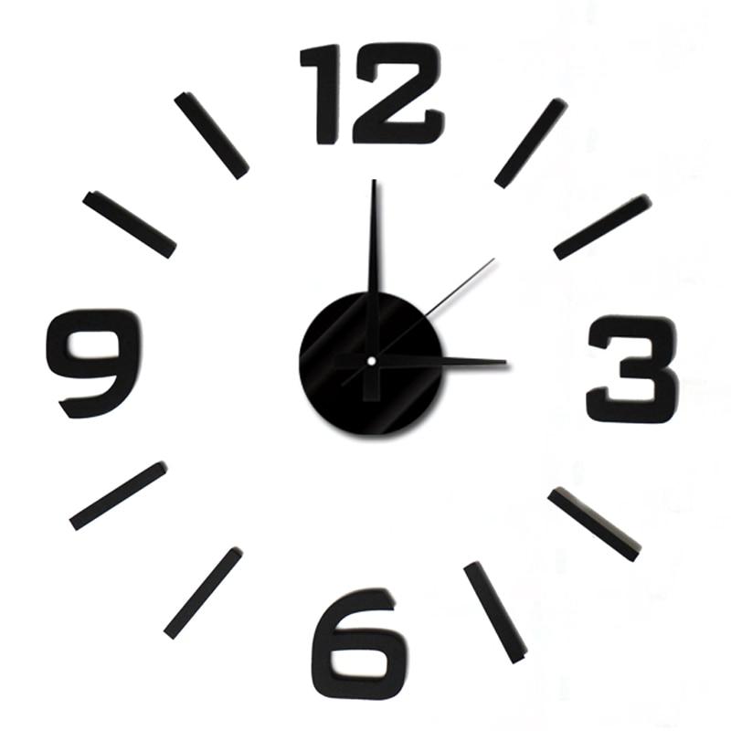 DIY Moda moderna Reloj de pared creativo Pasta 50 * 50cm EVA Pasta - Decoración del hogar