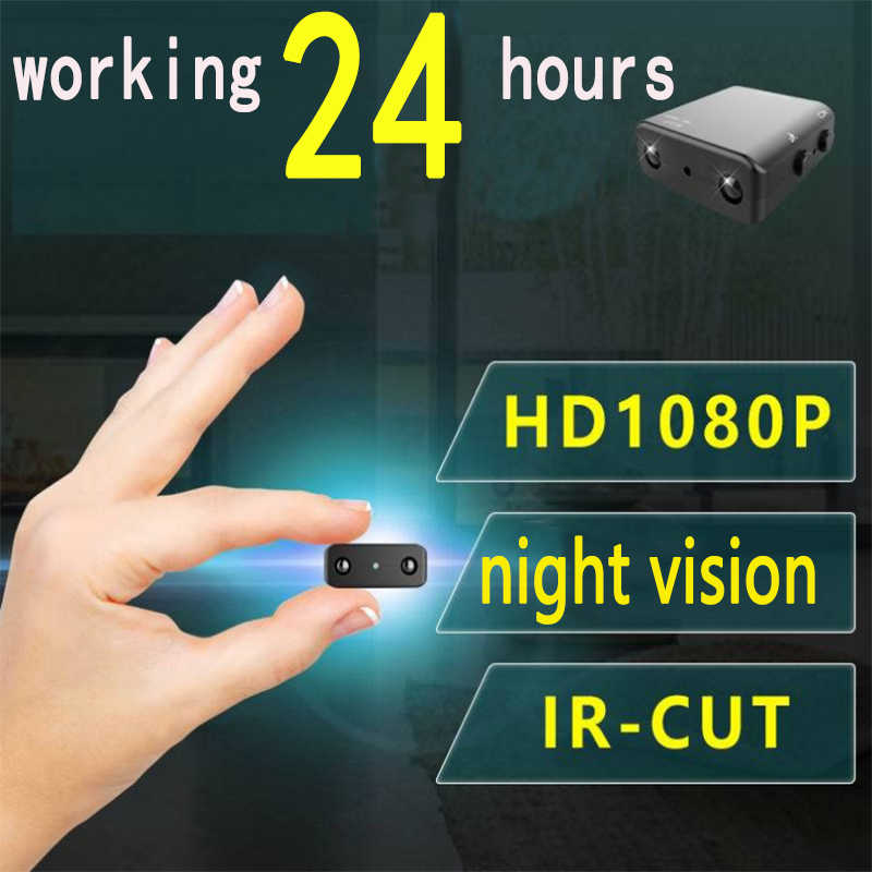 Mini Camera Smallest 1080P Full HD Camcorder Infrared Night Vision Micro Cam Motion detection IR-CUT DV Support Hidden TF card