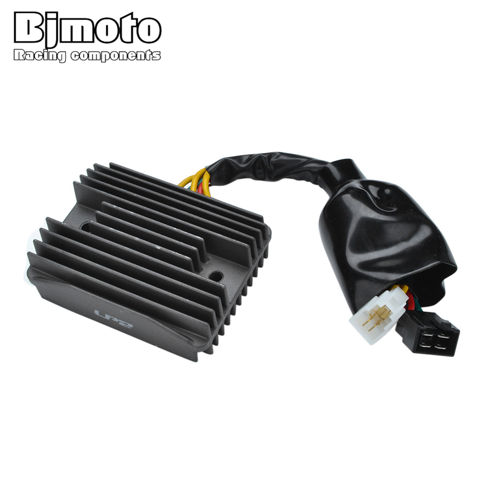 BJMOTO Motorcycle Metal Voltage Regulator Rectifier Motorbike For Honda VFR 800 FiW/FiX 1998-1999 CB 1300 FW/FX/FY (SC40) 98-01 mayitr motorcycle voltage regulator rectifier for honda vfr 800 fiy fi1 2 3 4 5 2000 2005 rtv1000 cbr1100xx