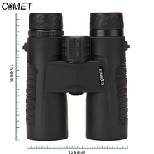COMET 8x42 Compact Binoculars for Bird Watching Waterproof Bak4 Nitrogen Filled Telescope for travelling Hunting Birding