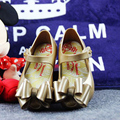 Geléia Sandálias Meninas Sapatos Sandálias princesa MINIKHOO Três Grandes Arcos Bebê Menina Sandálias Criança Menina Sandálias de Alta Qualidade