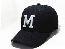 Коснитесь Uesugi Tatsuya M Logo Аниме Black Snapback Hat Cosplay Бейсболка