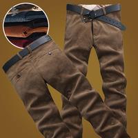 ZEESHANT Gorący Bubel Nowy Marka Plus Size: 38 Bawełna Sztruksowe Spodnie Casual Men Odzież Czarne Spodnie Męskie Biegaczy Perfumy Masculino