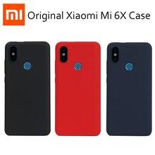 Funda Original Xiaomi mi A2 Lite Xiaomi mi 6X carcasa trasera mate para teléfono Fuda Capa mi 6x a 2 lite PC dura a prueba de golpes Redmi 6 Pro