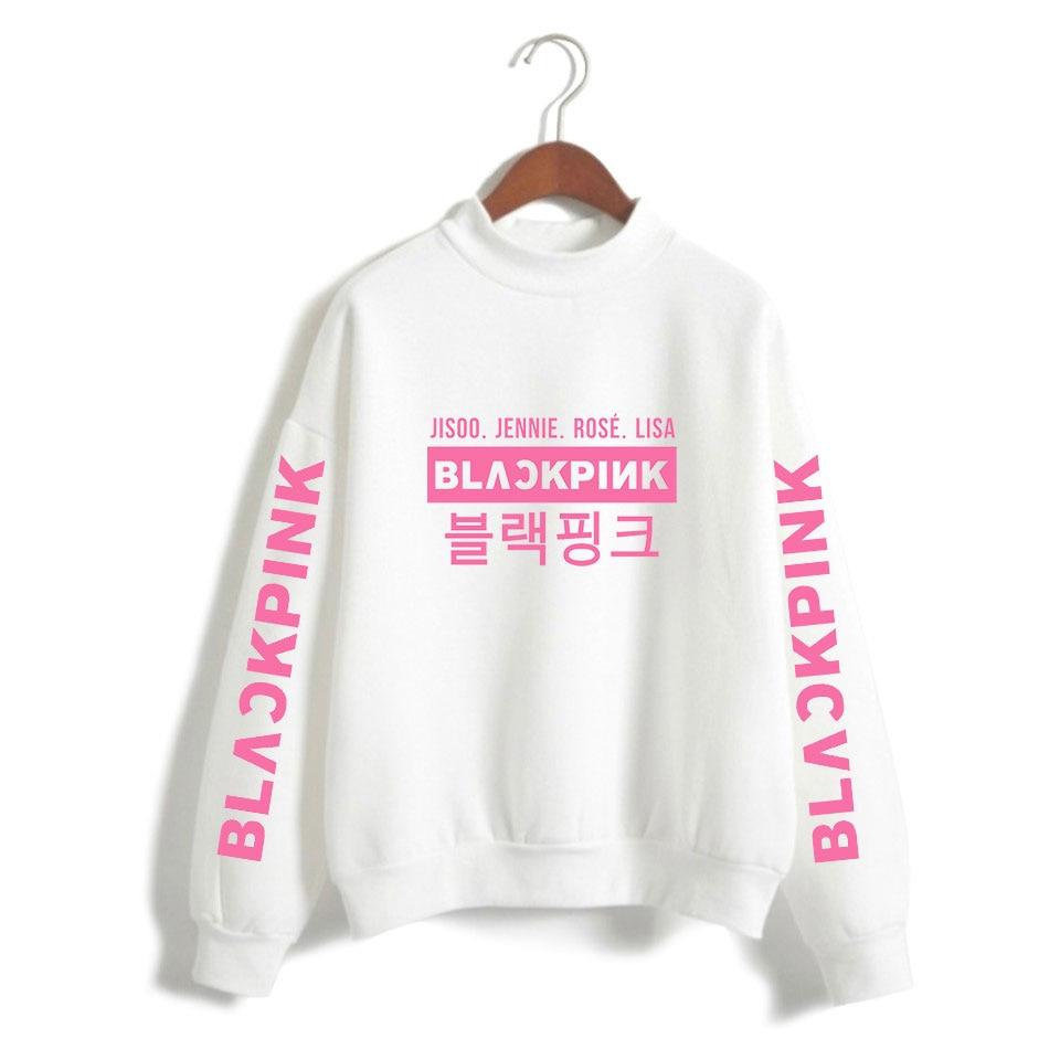 Hoodies & Sweatshirts Impartial Vagrovsy Kpop Blackpink Loose Sweatshirts Women Blackpink Group Member Fashion Harajuku Kpop Blackpink Fans Turtleneck Hoodies