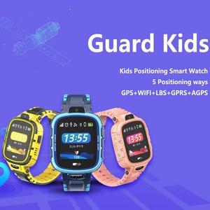 Image 3 - GPS Smart Watch Kids Camera IP67 Waterproof Wifi Tracker Phone Smartwatch Children SOS Monitor Positioning Watch 500mAh Battery