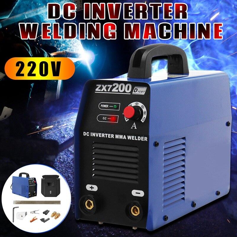 Forgelo 1Pcs AC220V Portable Hand Held Welders Kit Welding Equipment Arc Welders Home Mini Electric Welding