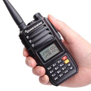 Image 4 - Quansheng TG UV2 PLUS wysoka moc 10W 5 pasm 136 174MHz/policja 350 390MH/400 470MHz 4000mAh 10KM daleki zasięg 200CH Walkie Talkie