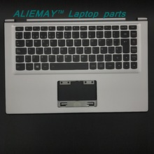 Laptop parts for LENOVO YOGA 2 13 Yoga2-13  SILVER Palmrest  with Backlit SP Spain Keyboard FRU:90205144 laptop parts for lenovo yoga 3 pro 1370 palmrest with backlit uk keyboard and touchpad 5cb0g97373