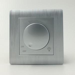 Image 2 - Ücretsiz kargo COSWALL lüks duvar ışık anahtarı karartıcı kontrol cihazı şampanya altın AC 110 ~ 250V C31 serisi