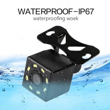 car Rear View Camera Universal 12 LED Night Vision Backup Parking Reverse Camera Waterproof 170 Wide Angle HD Color Image