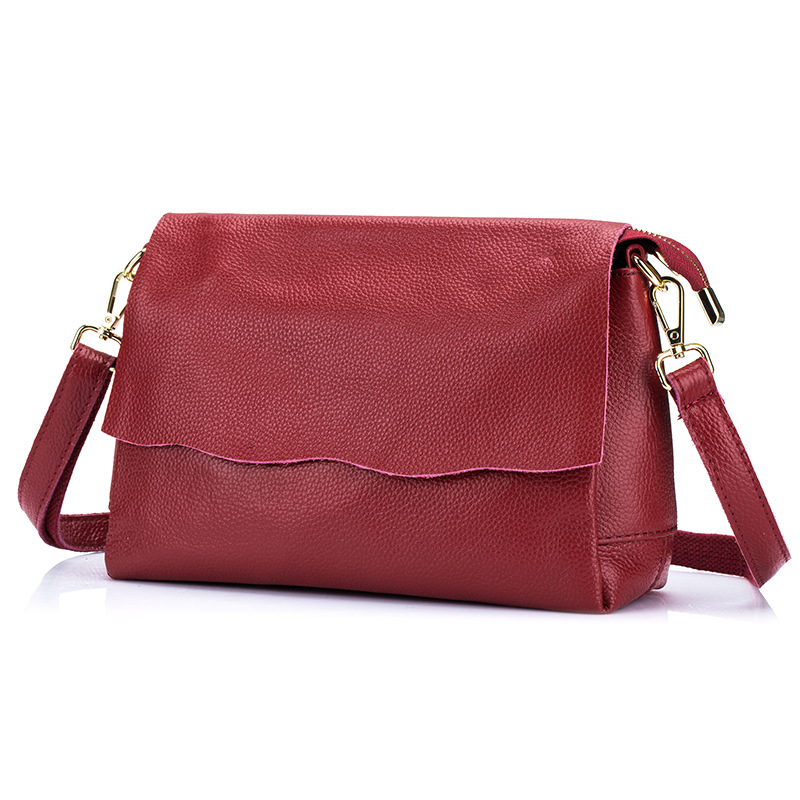 New Arrival Genuine Leather Women Bags Crossbody Bags High Quality 4 Colors Fashion Female Shoulder Bags Messenger Bags DC210 6 colors fashion casual women bags 100% genuine leather women messenger bags first layer cowhide shoulder bags crossbody bags