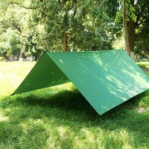 Image 4 - ARRIES 3M x 3M Sun Shelter Fly Plane Markise Hängen Im Freien Wasserdichte Zelt Hängematte Camp Regen Ultraleicht UV garten Baldachin Sonnenschirm