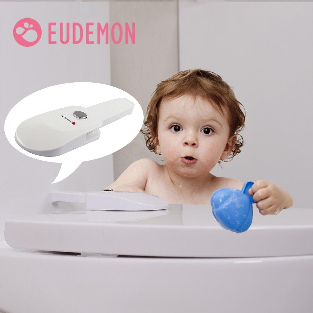 EUDEMON ребенка замок для безопасности детей Дети крышку унитаза Замки ремни безопасности дома защиты безопасности инструменты Ванная комнат...