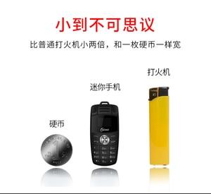Image 3 - Car Key Mobile Phone Fsmart Taiml X6 Small Size Screen Bluetooth dialer MP3 Magic voice change Unlock Mini Cellphone