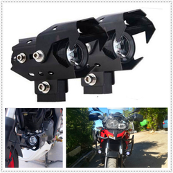 Мотоцикл фары для мотокросса светодио дный туман лампа загорается Spotlight головного света для HONDA CRF1000L XR650R YAMAHA R6S Европа версия