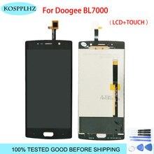 5.5 inç Doogee BL7000 lcd ekran + dokunmatik ekran % 100% test ekran Digitizer meclisi değiştirme bl 7000 + ücretsiz araçlar
