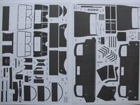 1:25 DIY Paper Model German Army Truck Benz L 3000 WW II Boy Gift Papercraft 3D Puzzle