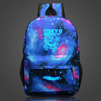 2016 Space Backpack Anime Tokyo Ghoul School Bags For Teenagers Dollar Price Drop Shipping