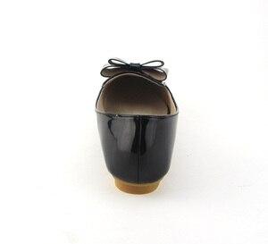 Image 3 - BEYARNE zapatos planos individuales de primavera para mujer, lazo informal, punta estrecha, boca poco profunda, de fábrica, EU 33 43
