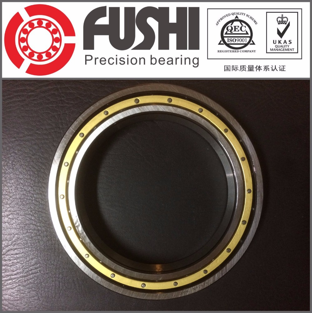 6924M  ABEC-1 120x165x22MM  Metric Thin Section Bearings 61924M Brass cage 1pcs 71822 71822cd p4 7822 110x140x16 mochu thin walled miniature angular contact bearings speed spindle bearings cnc abec 7