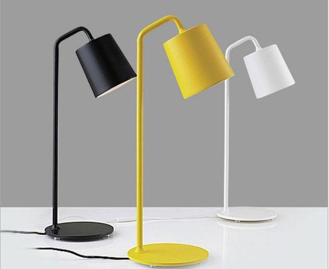 LED Лампа для чтения led lampara escritorio Современный Творческий Настольная лампа led lamparas led lampara escritorio mesa