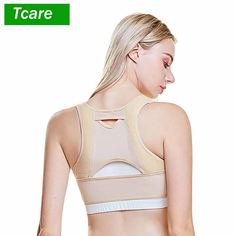 1Pcs Chest Supports Brace Up Women Posture Corrector Shape Corrector Prevent Chest Hunchback Sagging Posture Corset Bra Vest lace up jacquard strapless bra corset