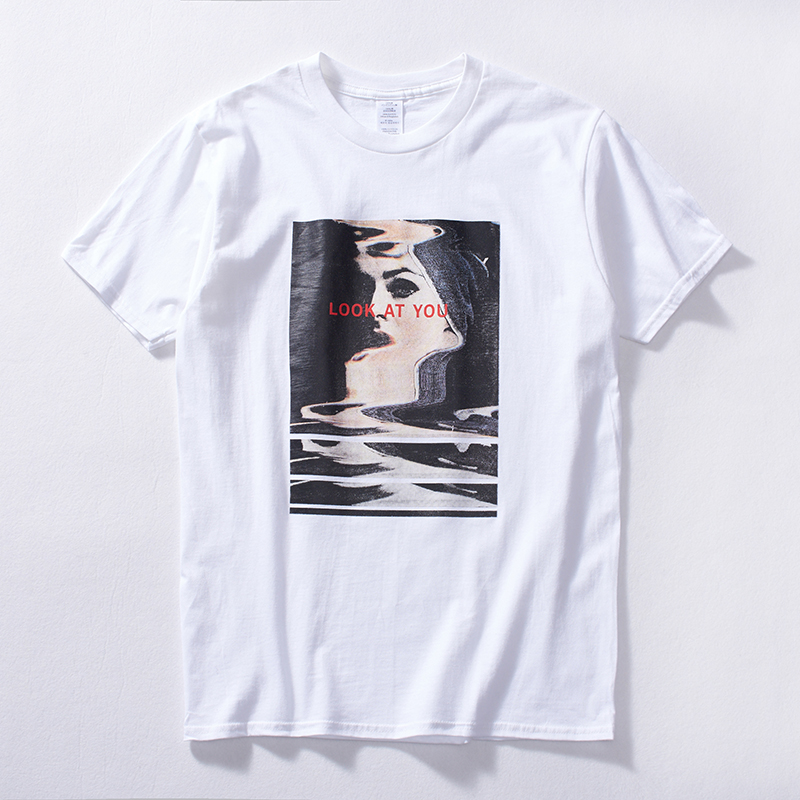 DIFFELELMENT Spring Summer Short Sleeve T Shirts Men 2017 New Spring Summer 100% Pure Cotton Vintage Cartoon Tees O neck Shirts