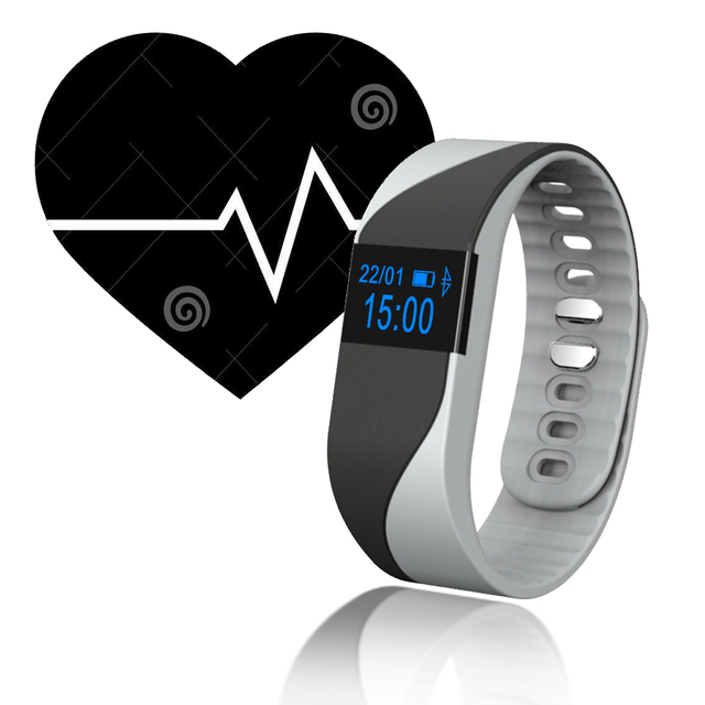 TK21 Heart Rate Monitor Smart Band Sport Fitness Wristband Bluetooth Bracelet Call Reminder for iOS Android pk mi band 2 Fit bit
