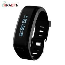 Hraefn F1 Смарт полосы IP68 Водонепроницаемый бассейн bluetooth Браслет pulsera inteligente Спорт часы Heart Rate Monitor smartband