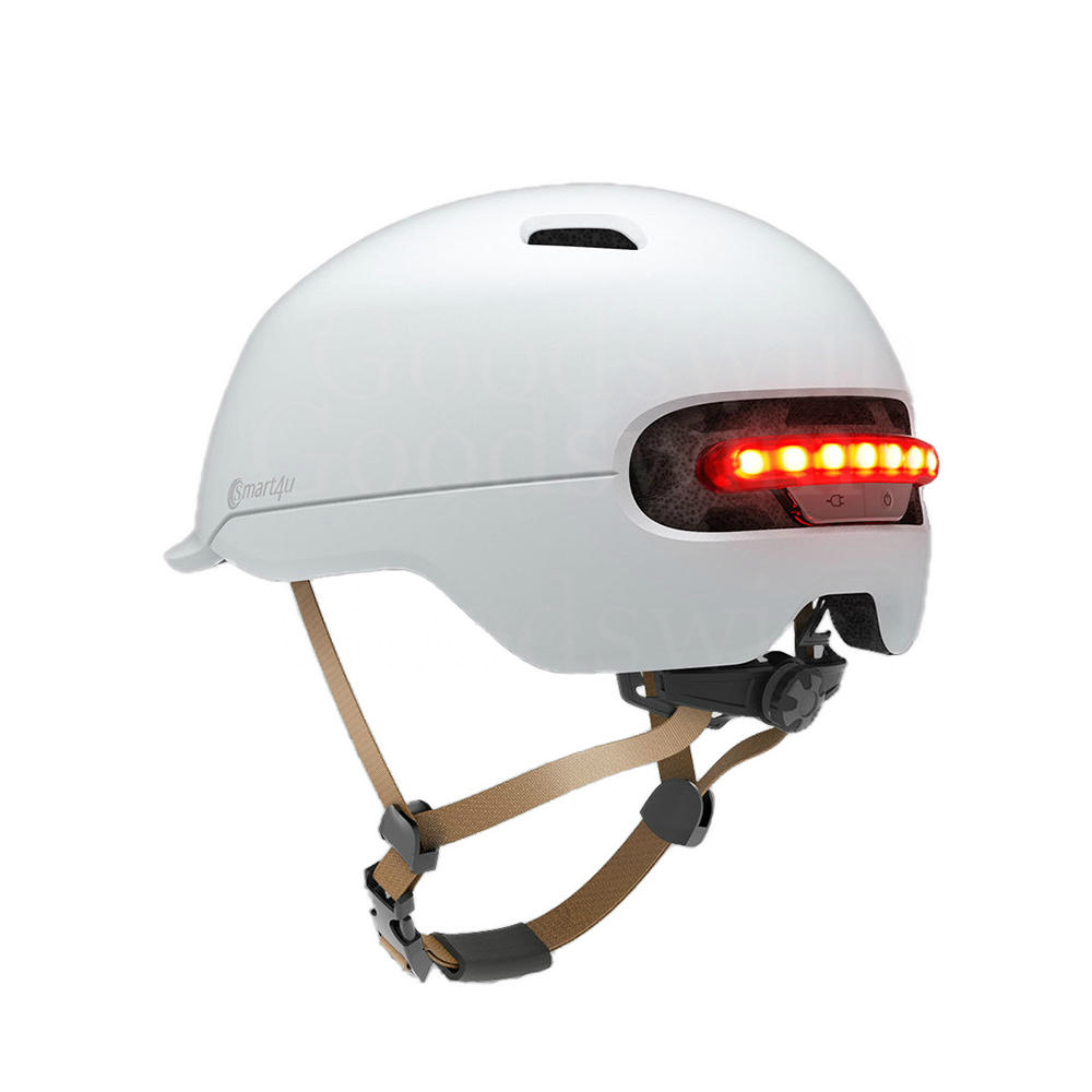 XIAOMI Bicycle Helmet Smart Back LED Light For Xiaomi M365 Bird Spin Qicycle Electic Skateboard EPS Breathable Ventilation IPX4