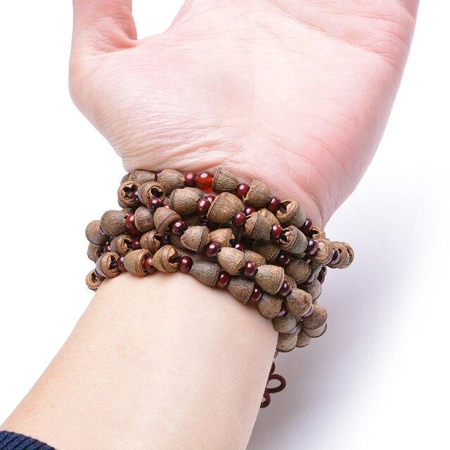 Купить nepal admiralty bodhi браслет 108 тибетские буддистские четки