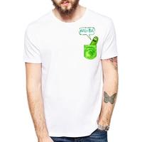 Rick And Morty Geek T Shirt Men TV Tee Anime Funny T Shirt Cool I M