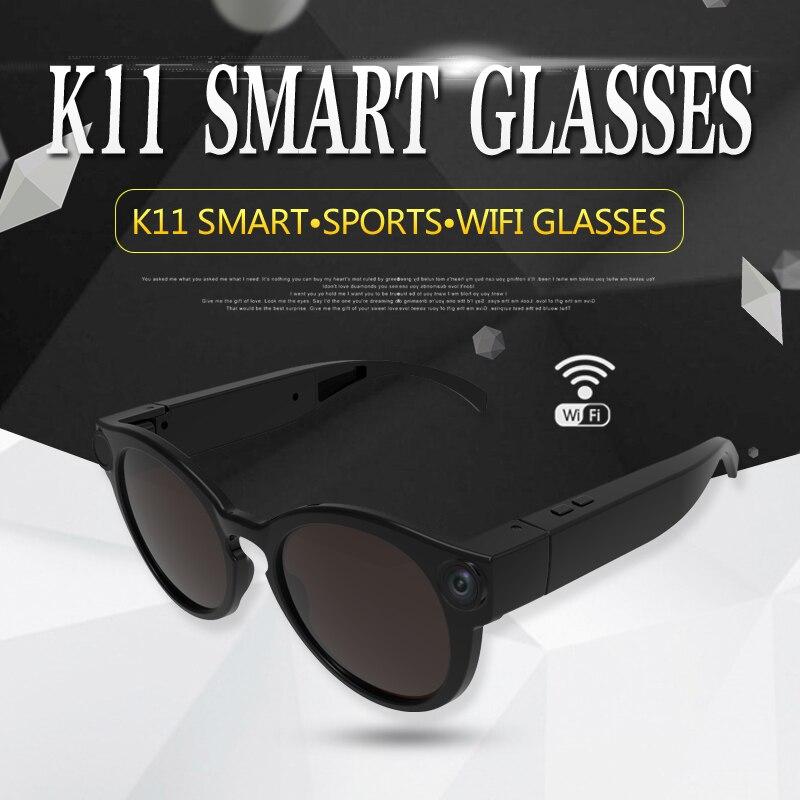 Mini caméra lunettes de soleil 1080 p Wifi Micro caméras polarisées-lentilles HD sport enregistreur vidéo caméscope caméra